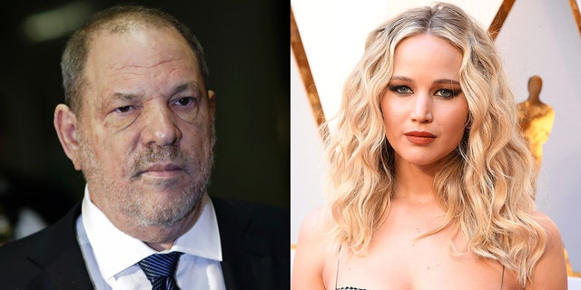 """Lawrence denied having """"anything but a professional relationship"""" with Weinstein in a statement issued to Fox News on Friday."""
