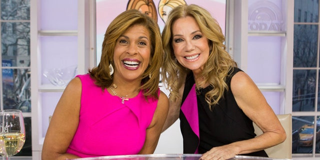 """""""We're going to be friends for the rest of our lives andI'm grateful to God for you,"""" Kathie Lee told Hoda Kotb, seen here in a January 2018 file photo. (Nathan Congleton/NBC)"""