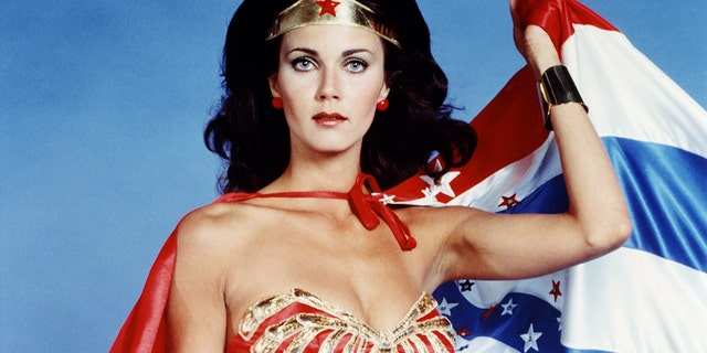 Actress Lynda Carter portrayed Wonder Woman on television in the 1970s. (Getty Images)