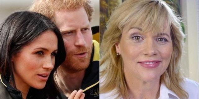 Meghan Markle, Prince Harry and Samantha Markle