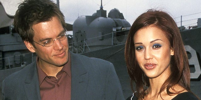 michael weatherly and his wife