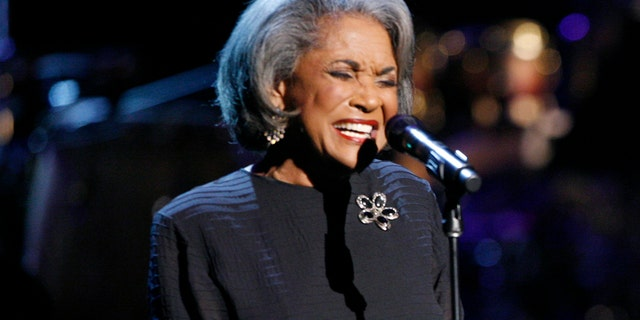 FILE - In this Oct. 28, 2007 file photo, Nancy Wilsonperforms during an all-star tribute concert for Herbie Hancock, in Los Angeles. (Associated Press)