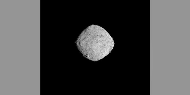NASA's OSIRIS-REx spacecraft captured this photo of the asteroid Bennu on Nov. 16, 2018, from a distance of 85 miles. OSIRIS-REx arrived at the space rock on Dec. 3.