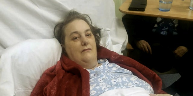 Dawn White claims a surgical sponge left inside her body for 17 months after a hysterectomy operation.