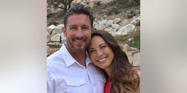 Bryant Swenson and his wife (pictured) Lauren , from Utah, were driving near Mai Mahiu on November 30 when three masked men attacked their car<br>