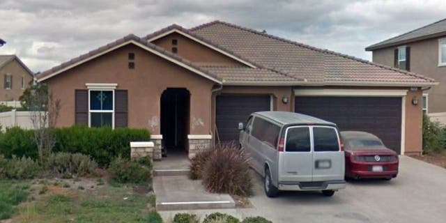 The Turpin home in Perris, Calif, where 13 children allegedly lived in horrid conditions. (Google Maps)