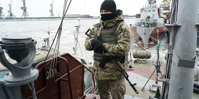 Russian Federation says detained Ukrainian sailors not war prisoners