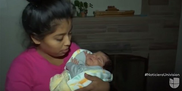"Calling the birth in the U.S. a ""big reward"" for her family's journey, Serrano-Hernandez told Univision, which documented parts of their journey: ""With the faith in God, I always said my son will be born there (in America)."""