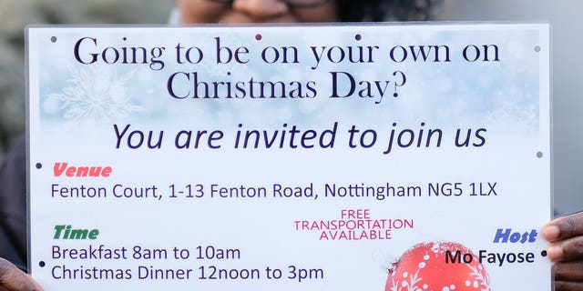Mo who hosts Christmas dinner for about 100 people says she is pleased a council has backed down on threats to fine her over her flyers for the event.