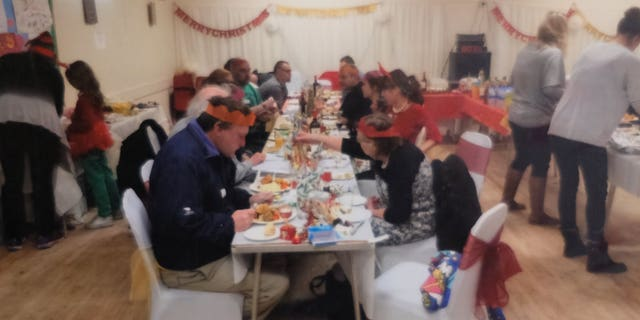 """Mo Fayose raises money for the gathering herself, to help combat """"festive loneliness."""""""