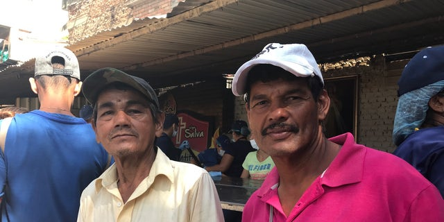 """Crimes are committed by police, a lot of the criminals are police themselves,"" Saul Moros, 59, from the Venezuelan city of Valencia. (left) Luis Farias, 48, said gun violence was bad when guns were freely available – but became much worse after the so-called prohibition."