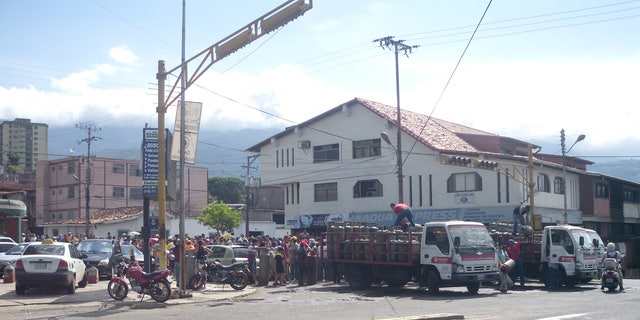 Venezuelans line up for hours and sometimes days for gas and food as the situation in Venezuela deteriorates.