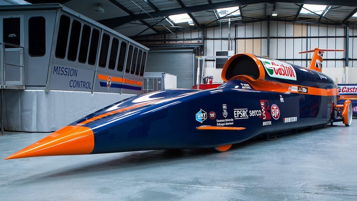 Buyer saves 1,000 mph car project from bankruptcy