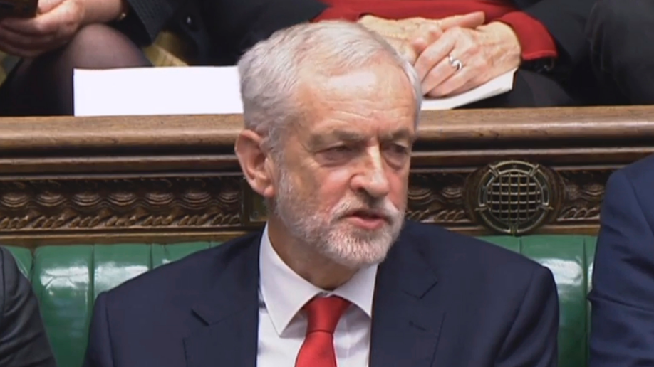 Uproar after Corbyn is accused of calling May a 'stupid woman'