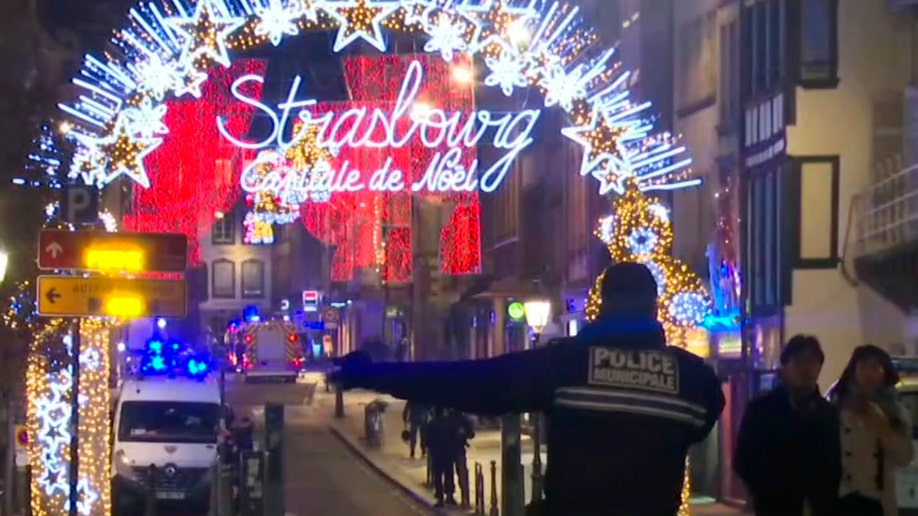 Gunman on the run after three killed in Strasbourg shooting
