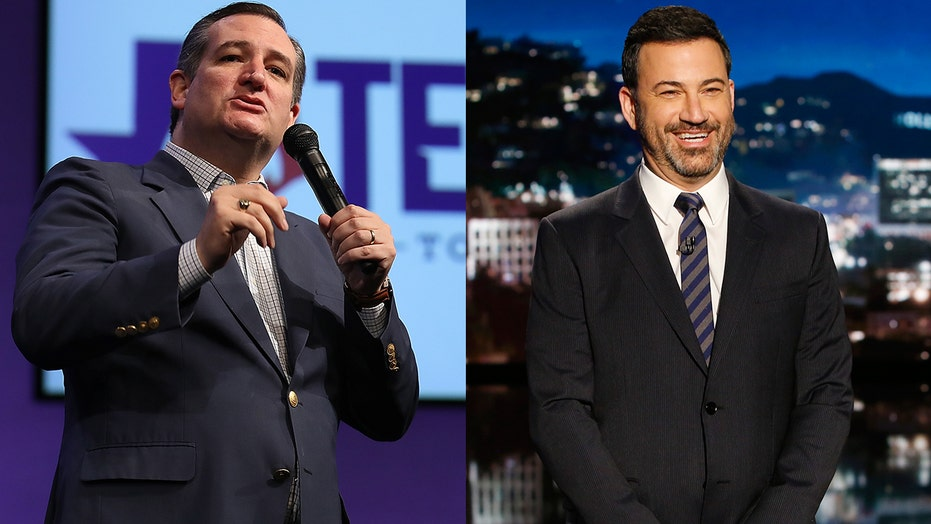Jimmy Kimmel spars with Ted Cruz on Twitter, takes the fight to his late-night monologue