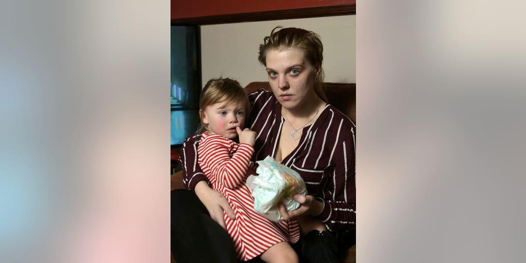 Mom's claim glass inside diaper left toddler bleeding