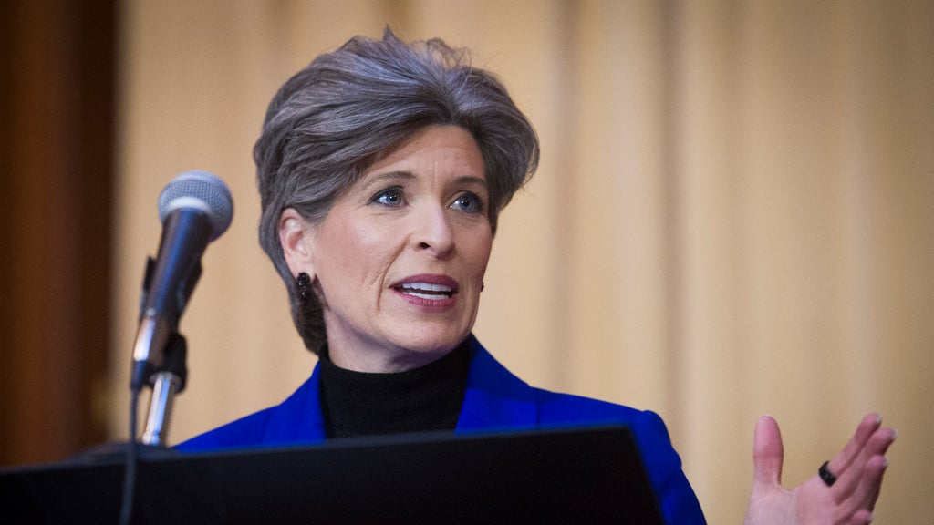 Divorce filing by Sen. Joni Ernst claims spousal abuse, VP consideration