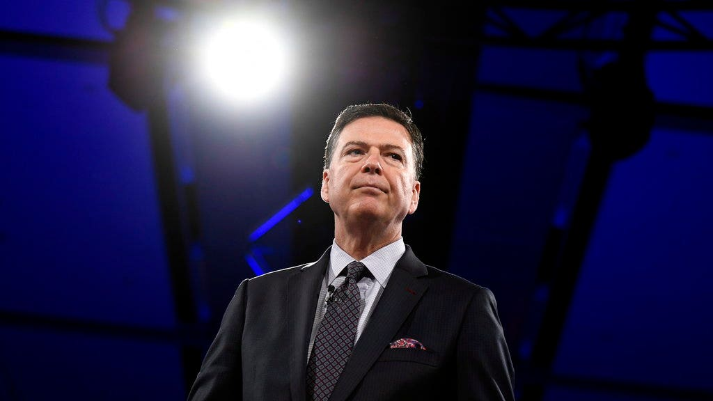 SEAN HANNITY: Walls close in on false prophet James Comey