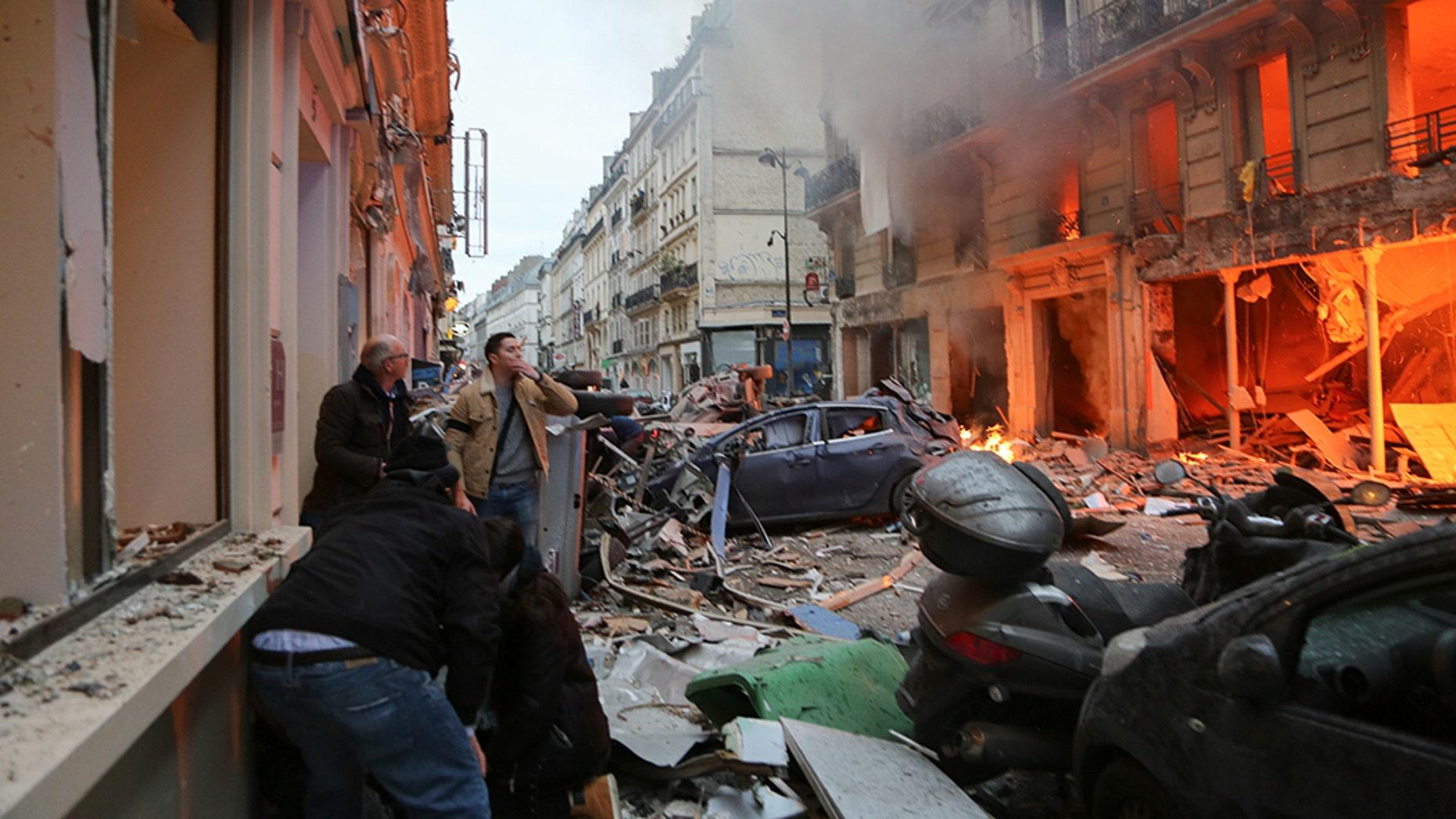 Kebocoran Gas Picu Ledakan Dahsyat di Paris: 3 Orang Tewas