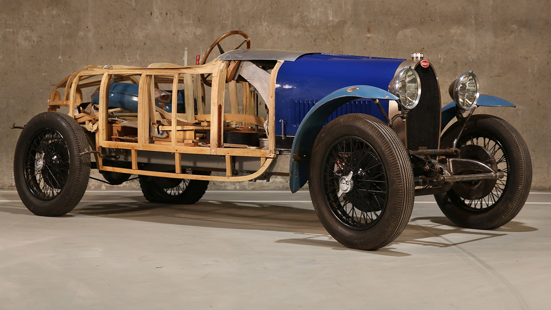 Million Dollar Barn Find Collection Bugatti Type 40