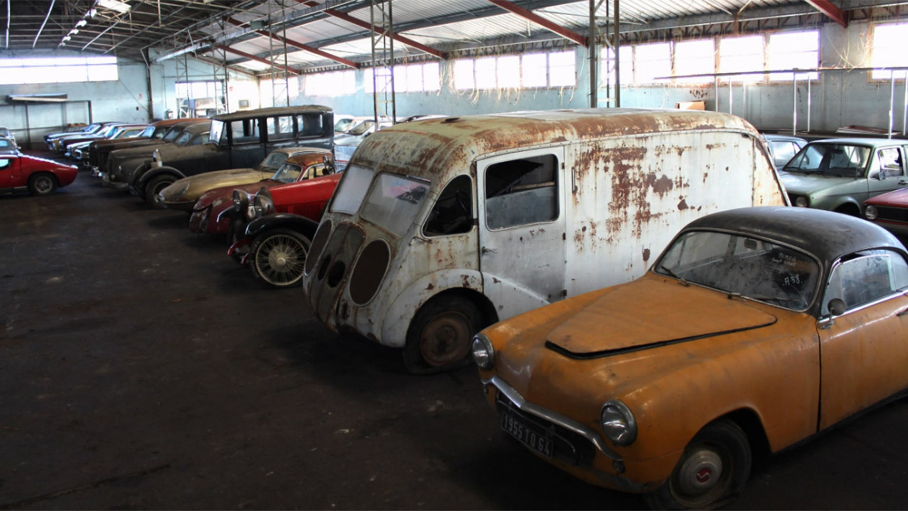 81 Barn Find Collection