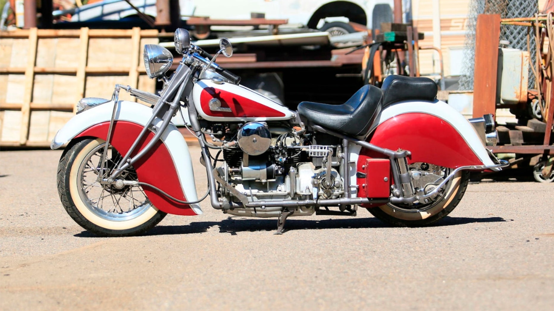 Indian Motorcycles Found In A Scrapyard