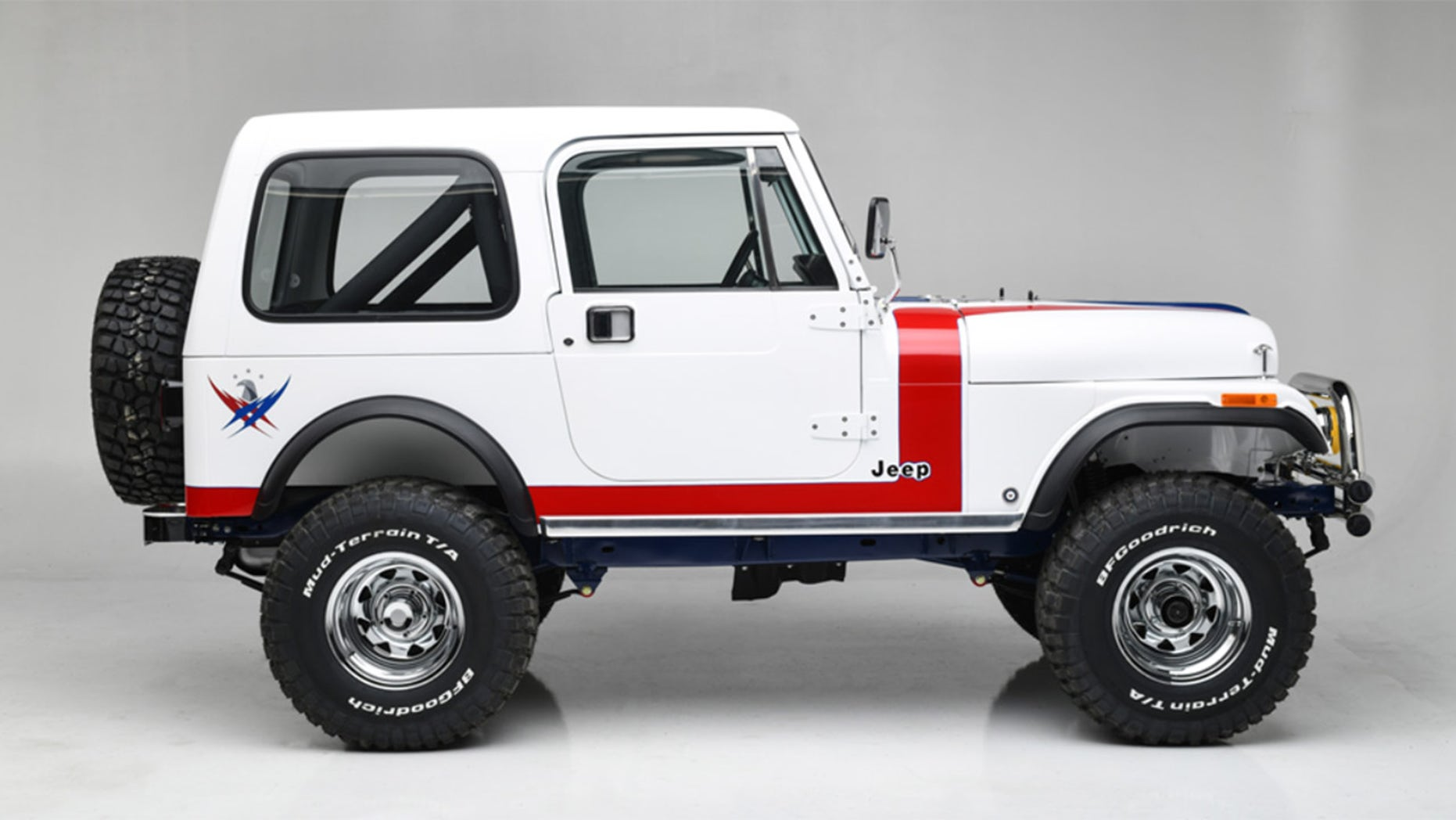 1981 Jeep CJ7 side view