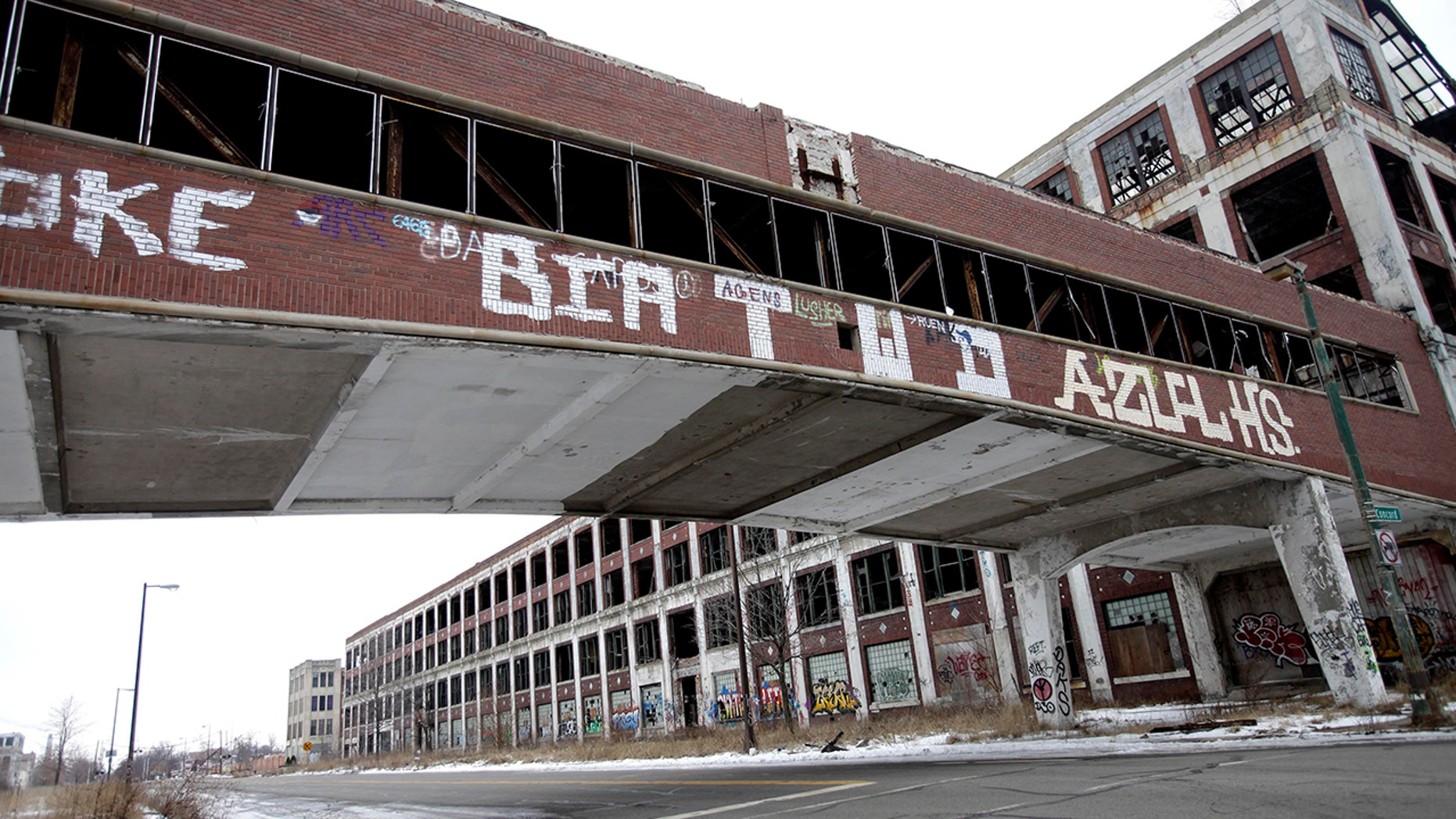 historic Packard Automotive Plant 2013