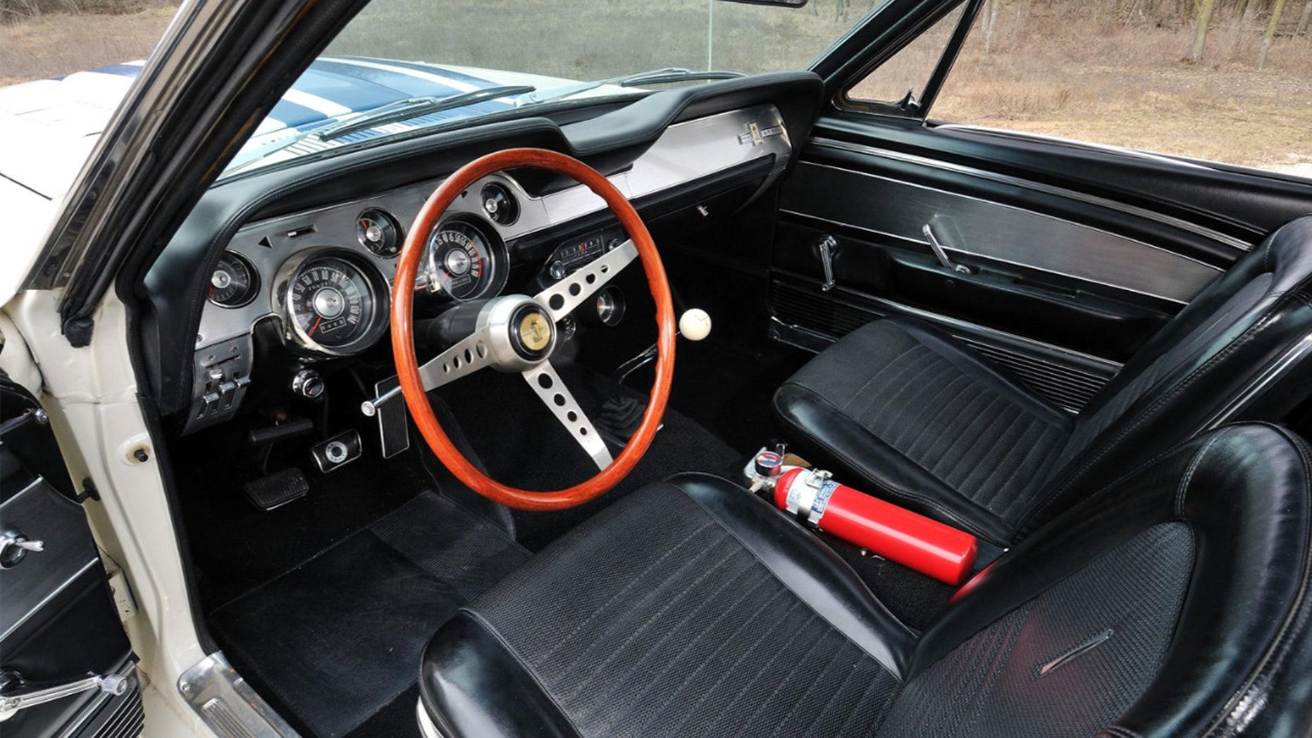 1967 Shelby GT500 Super Snake Interior