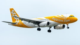 Footage shows Scoot airline passenger brawling with fellow flyers before being subdued