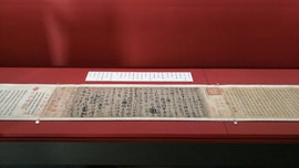 Calligraphy relic sparks outrage in China after Taiwan loans it to Japan museum