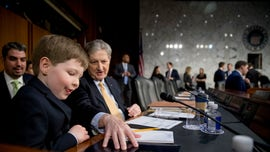 William Barr's grandson, 8, has notes on attorney general confirmation hearing and Russia probe