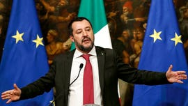 Italy's Salvini slams France for migrant crisis: 'I don't take lessons on humanity and generosity from Macron'