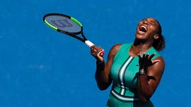 Serena Williams, 1 point away, eliminated from Australian Open by Karolina Pliskova