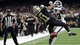 Controversial non-call overshadows Rams-Saints NFC Championship Game