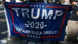 Man whose Trump 2020 flag was vandalized gets replacement, holds raising ceremony