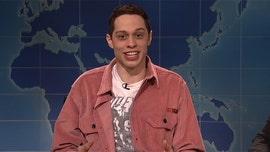 'Saturday Night Live' star Pete Davidson jokes about his suicide threat on 'Weekend Update'