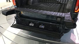 The 2019 GMC Sierra's tailgate rocks