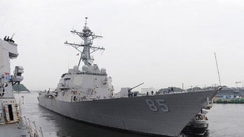 US Navy ship sails near disputed islands in South China Sea