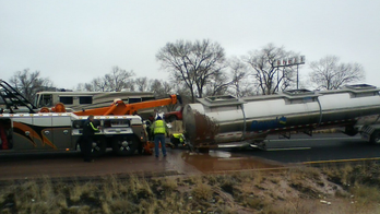 Truck spills 3,500 gallons of chocolate across Arizona highway