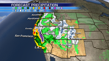Flash flooding a concern across California; snow and rain to spread across East