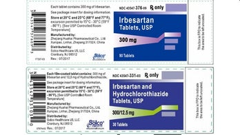 Blood pressure drug recalled after probable cancer-causing ingredient detected