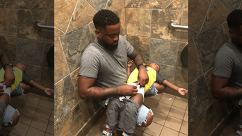 New York law requires changing tables in men's bathrooms