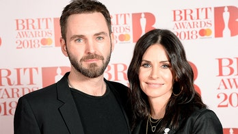 Courteney Cox says 'it's been hard' without boyfriend Johnny McDaid as the couple quarantines apart