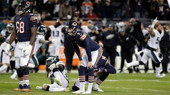Eagles edge Bears, Chargers hold off Ravens in NFL wild card games