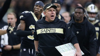 New Orleans Saints coach takes apparent dig at Goodell with T-shirt