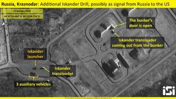 Russia deploys nuclear-capable ballistic missile launchers near Ukraine border, satellite photos show
