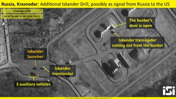Russia deploys nuclear-capable ballistic missile launchers near Ukraine border, satellite photos show