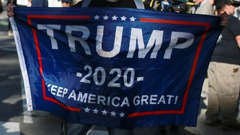'Trump 2020' banner unfurled at Boston's Fenway Park – then quickly ripped down